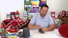 Crochetando com EuroRoma e Marcelo Nunes - Almofada Escama                                                                                                                                                     Mais