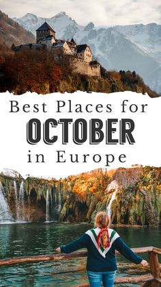 I've scoured Europe to not only find the best Autumn destinations in Europe but also found the best Fall foliage, the best place to celebrate Halloween, cheap places, and locations where the weather is still warm! #october #europe #travel #autumn #festivals #fallfestival Places In Europe, Europe Destinations, Amazing Destinations, Places To Travel, Best Countries To Visit, Cool Places To Visit, Cool Countries, Europe Train Travel, Plitvice Lakes National Park