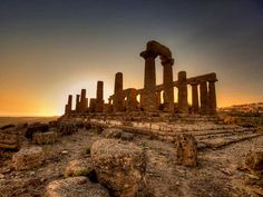 Sicily Agrigento - Valley of the Temples - Temple of Juno