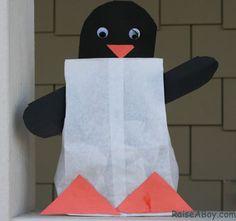 Preschool Penguin Crafts   Preschool Penguin Craft