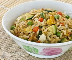 Zucchini and Egg Fried Rice in 20 minutes | Roti n Rice