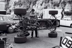 Workshop F1 Tyrrell 002 - 1971 Monaco Grand Prix