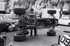 Workshop F1 Tyrrell 002 - 1971 Monaco Grand Prix