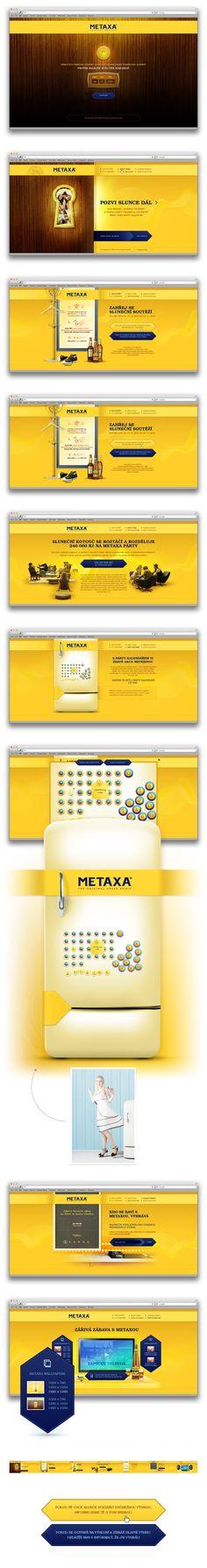 Metaxa | Art4web | Kreatívna internetová agentúra | Tvorba webstránok, Grafický design, Copywriting, SEO