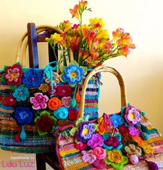 If you don't know Lidia Luz's, you've got to check her out.  Her colorwork is inspiring!