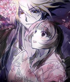Anime/manga: Nurarihyon No Mago (Nura: Rise of the Yokai Clan) Characters: Nurarihyon and Yohime