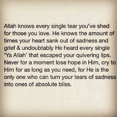 ya allah, allah knows, and allah sees image Allah Quotes, Muslim Quotes, Quran Quotes, Me Quotes, Motivational Quotes, Hadith Quotes, Wisdom Quotes, Famous Quotes, Daily Quotes