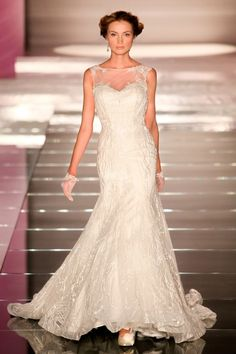 To see more gorgeous Alessandra Rinaudo wedding dresses: http://www.modwedding.com/2014/10/18/alessandra-rinaudo-wedding-dresses-italian-glamour/ #wedding #weddings #wedding_dress