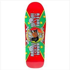 6294292cc32 Prime x World Industries Randy Colvin Rasta Rebel Skateboard Deck