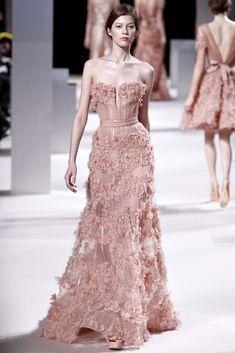 Elie Saab Spring 2011 Couture Fashion Show - Yulia Kharlapanova (OUI)