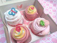 Onsie cupcake gift