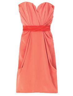 Love coral dresses!