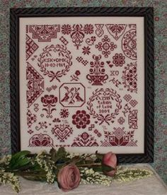 My Token of Love by Rosewood Manor - Cross Stitch Kits & Patterns
