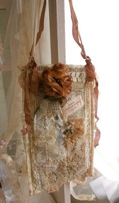 old rose bag