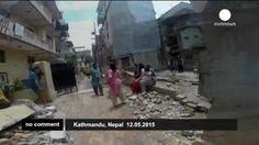 Nepal y el norte de India, sacudidos por un nuevo terremoto
