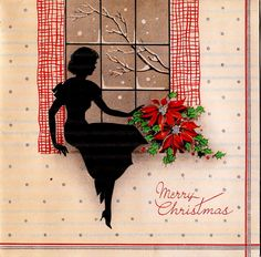 Vintage 1930s Christmas Card