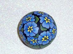 Primrose - Painted rock
