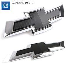 GM GENUINE BOWTIE EMBLEM BLACK for MALIBU(2016~) GM#23384200(F) / GM#23384201(R) #Chevrolet