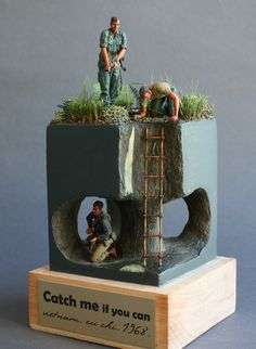 Dioramas and Vignettes: Catch me if you can!, photo #2