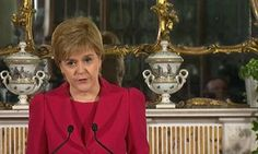 Scottish independence: Nicola Sturgeon fires starting gun on referendum | First minister to seek second vote on leaving UK, saying Theresa May has failed to move an inch over Brexit negotiations