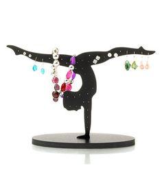 Another great find on #zulily! Black Gymnast Jewelry Holder by Aerials by Alpha Factor #zulilyfinds
