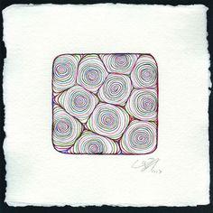 "Saatchi Online Artist Paco Vila  Guillen; Drawing, ""SQUARE 2"" #art"