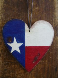 Texas flag flag of Texas car decoration home by BalticWoods