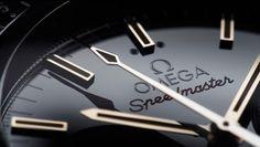 Omega Speedmaster detail.