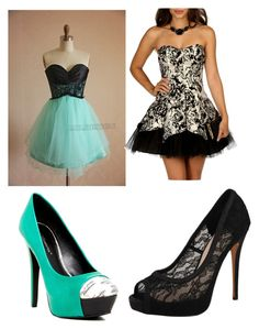 prom by jordanfashion14 on Polyvore featuring polyvore, fashion, style, Masquerade, Vince Camuto and BCBGeneration