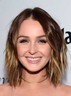 Camilla Luddington Layered Razor Cut