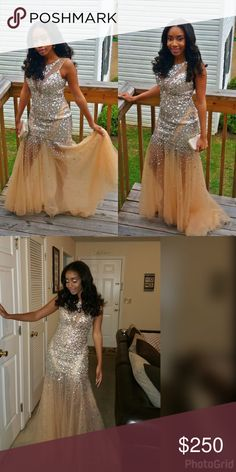Beautiful Prom Dress 😍 Only worn once , it's practically new ! ☺ Dresses Prom