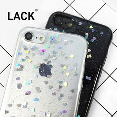 LACK Luxury Bling Glitter Phone cases For iphone7 Fashion Love Heart Shining Powder Back Cover For iphone 7 6 6S Plus Fundas NEW-in Phone Bags & Cases from Phones & Telecommunications on Aliexpress.com   Alibaba Group