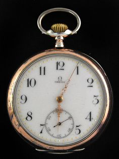 49b282aa878 Omega 1900 Paris Grand Prix Pocket Watch 800 Silver Decorative Case. Rene  Persin · Relógio de Bolso
