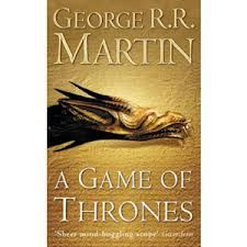 A Game of Thrones by George R.R. Martin. Halfway through the first book and I'm hooked. I usually don't love fantasy but this is great stuff. I'd recommend it to anyone. Request it at http://eisenhowerlibrary.org/ or by calling the Answers Desk at 708.867.2299