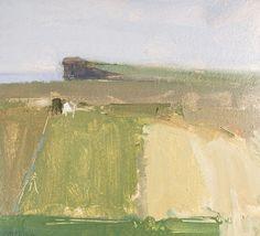 Stuart Shils b. 1954 Fields Near Ballycastle II, 1994