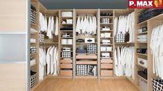 Výsledek obrázku pro zabudované skříně Closet, Home Decor, Armoire, Interior Design, Home Interior Design, Closets, Wardrobes, Closet Built Ins, Home Decoration