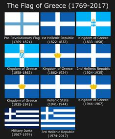Ellada stin kardia mou — historium: The History of the Flag of Modern. Flags Of The World, Countries Of The World, Greek Independence, Greece History, Greek Flag, Greece Pictures, Greek Culture, Alternate History, Greek Art