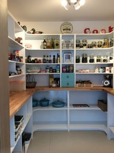 My dream pantry...step doen into it