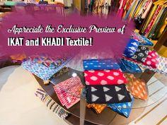 The Exclusive Preview of #IKATandKHADI Textile by #Craftroot. #Fashion #Clothing #Kurta #Fabrics #CityShorAhmedabad