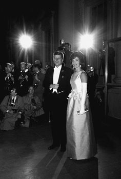 JFK & Jackie, c. 1963