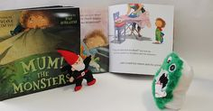 Looks like our Scary Cutes are just as excited about our new book 'Mum! The Monsters' as we are.