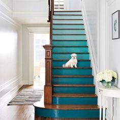 Stairs: from dark to light