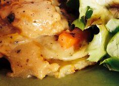 Kartoffelgratin vegan ... Unglaublich köstlich!
