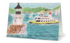 Casco Bay Ferry,  Portland, Maine by BackDownSea on Etsy