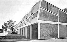 Ricardo de Robina & Jaime Ortiz Monasterio: Fabrica de pinturas, Sherwin-Williams de México SA, Poniente 140 595 (Eje 5 Norte 595), Industrial Vallejo, Azcapotzalco, México DF, 1953.