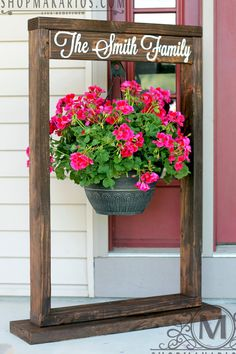 Use Old Metal Hook To Hang Plants Off Of