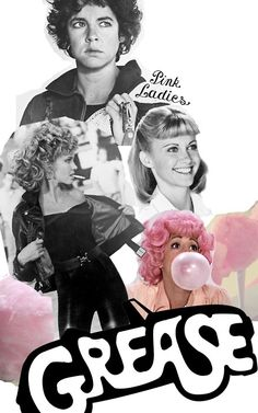 The pink ladies - Grease !!!