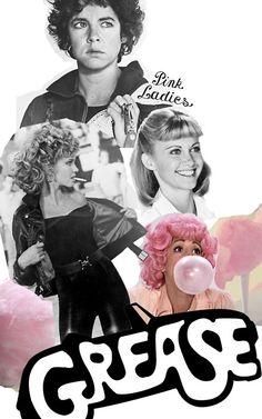 The pink ladies - Grease !!!