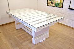 Nuestra nueva mesa artesanal a medida hecha con pallets realizada por Studio Now