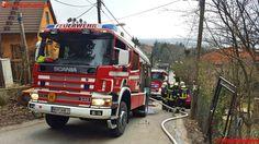 FF Klosterneuburg: Brennende Hütte #feuerwehr #firetruck #firemen